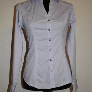 "Lavender Express Fitted ""The Essential Shirt"""
